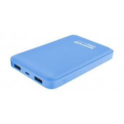 Promate 10000mAh Portable Power Bank with Dual USB Port – Blue