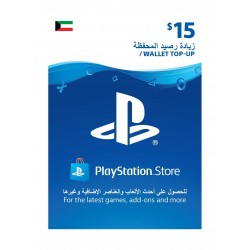 PlayStation Wallet Top-Up - ($15)