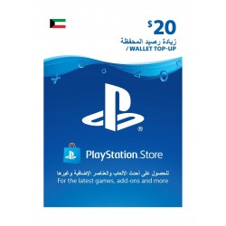 PlayStation Wallet Top-Up - ($20)