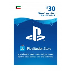 PlayStation Wallet Top-Up - ($30)