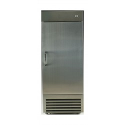 Wansa 14 Cft. Single Door Upright Freezer (1DAFS) - Stainless Steel