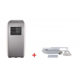 Wansa Diamond 12000 BTU Portable AC + Accessory Kit