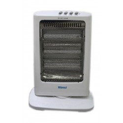 Wansa 1200W 3 Lamps Halogen Electric Heater - AE-3003