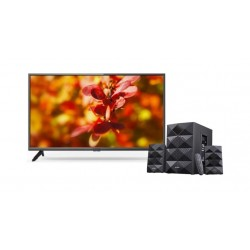 Wansa 40 inch Full HD LED TV + F&D 2.1 Ch Bluetooth Speaker
