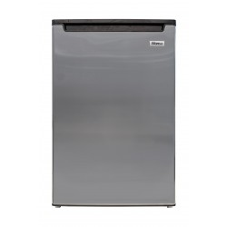 Wansa 3.5 Cft. Upright Freezer – Stainless Steel