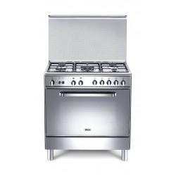 Wansa 80x50 cm 5-Burner Floor Standing Gas Cooker (WC18502114X)