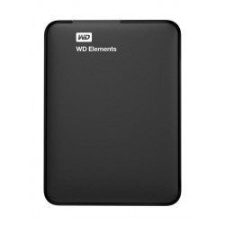 WD Elements 2TB USB 3.0 Portable Hard Drive - Black
