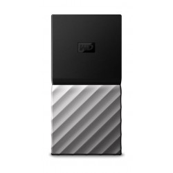 WD 512GB My Passport USB 3.1 Portable SSD - Silver