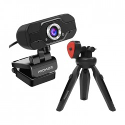 Promate Full HD USB Webcam With Tripod (ProCam-1)