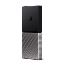 Western Digital My Passport 2TB Solid State Drive (WDBKVX0020PSL) - Silver
