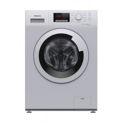 Hisense 7KG Front Load Washing Machine (WFDJ7010S) - Silver