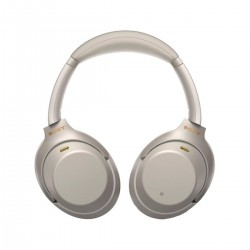 Sony Wireless Noise-Canceling Over-Ear Headphones (WH-1000XM3) - Silver  + Free one year Shahid VIP subscription