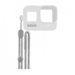 GoPro Hero8 Black Sleeve + Lanyard - White in Kuwait   Buy Online – Xcite