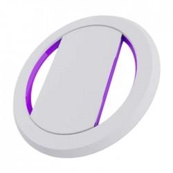 OhSnap Phone Grip - White / Purple