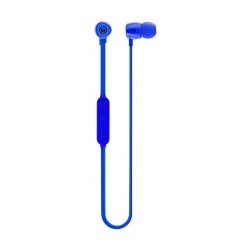 Wicked Audio Omen Wireless Bluetooth Noise Isolation Dynamic Crystal Clear Stereo Sound Earbuds - Blue