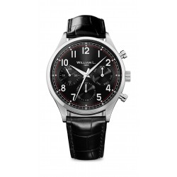 William L Vintage Style Analog Watch - WLAC03NRCN