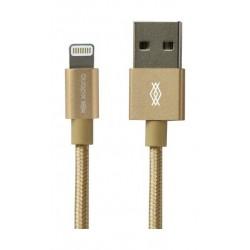 X-Doria Defense 2Meters Lightning Cable (457507) - Gold