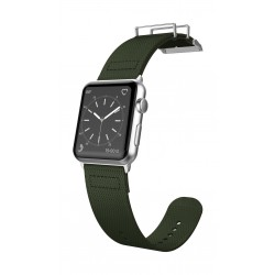 X-Doria Fieldband 42mm Apple Watch Strap (456951) - Olive