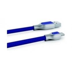X-doria Sharp 1 Meter Lightning Cable (467612) - Blue