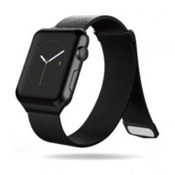 X Doria Hybird Mesh Band for Apple Watch 42mm (467483) - Black