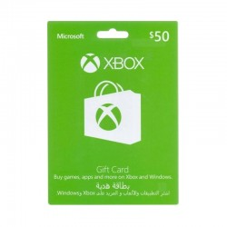 Xbox Gift Card $50 (GCC Accounts)