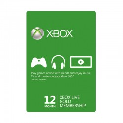 Xbox Live 12-Month Gold Membership Card (GCC Accounts)