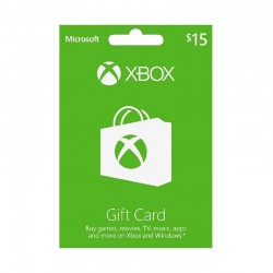 Xbox Gift Card $15 (US Account)