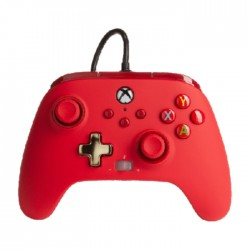 PowerA Enhanced Xbox Series X|S Wired Controller - Bold Red