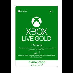 Microsoft Xbox Gold - (3 Month)
