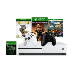 Xbox One S 1TB + 3 Games + Game Pass + Controller