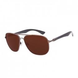 Chilli Beans Executive Dark Brown Sunglasses - OCMT3010