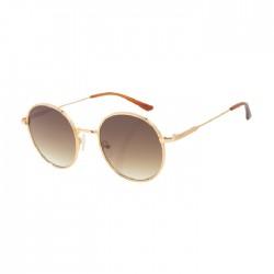 Chilli Beans Round Gold Sunglasses - OCMT3012