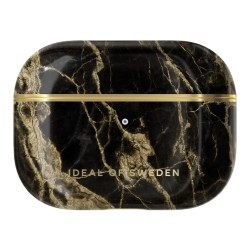 Ideal of Sweden Airpods Pro Case - Golden Smoke Marble