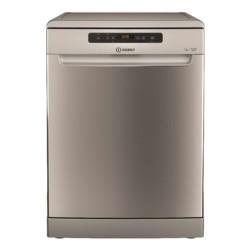 Indesit 14 Place Settings 8 Program Freestanding Dishwasher (DFO 3C23 X UK) - Inox