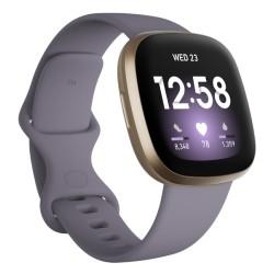 Fitbit Activity Tracker Versa 3 - Thistle/Soft Gold