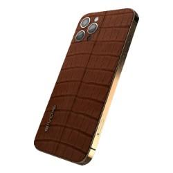 Givori iPhone 12 Pro Max 512GB Alligator Cigar