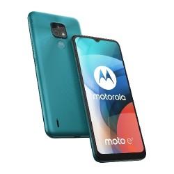 Motorola Moto E7 64GB Phone - Aqua Blue
