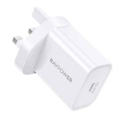 RAVPower PD Pioneer 20W Wall Charger (RP-PC147) - White