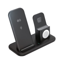 EQ 3 In 1 Wireless Charging Dock - Apple