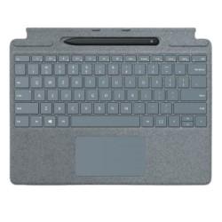 Microsoft Surface Pro X Arabic Keyboard + Pen (25O-00054) - Ice Blue