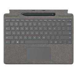 Microsoft Surface Pro X Arabic Keyboard + Pen (25O-00074) - Concrete Grey