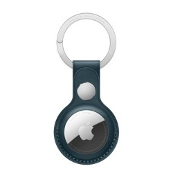 Apple AirTag Leather Key Ring - Blue