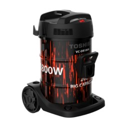 Toshiba 1800W 20L Drum Vacuum Cleaner (VC-DR180ABF)