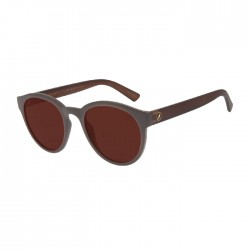 Chilli Beans Round Brown Sunglasses - OCCL3207