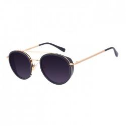 Chilli Beans Round Black Sunglasses - OCCL3211