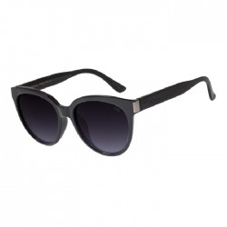 Chilli Beans Round Black Sunglasses - OCCL2793