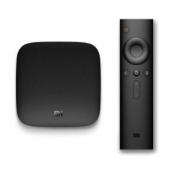 Xiaomi Mi Box 4K Android TV Set-Top Box - Front View