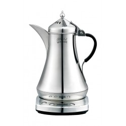 Yatooq Arabic Electric Coffee Maker 875ML - Silver