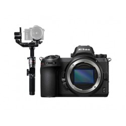 Nikon Z 6 Mirrorless Digital Camera (Body Only) + FeiyuTech AK2000 Wi-Fi Gimbal Stabilizer
