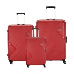 Kamiliant Zakk Spinner Hard Luggage Set Of 3 - Red